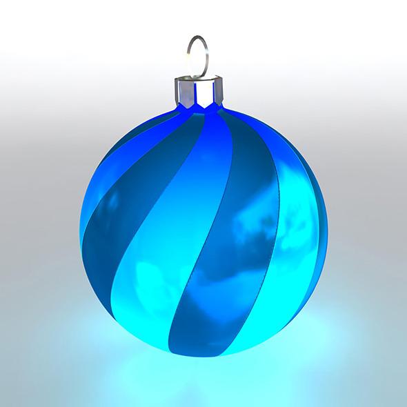 Christmas Ball 4 - 3DOcean Item for Sale