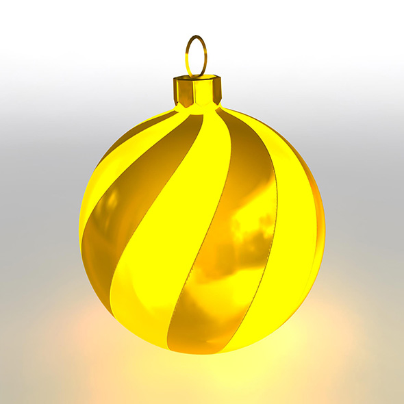Christmas Ball 5 - 3DOcean Item for Sale