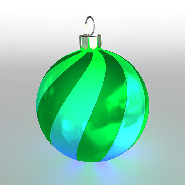 Christmas Ball 10 - 3DOcean Item for Sale