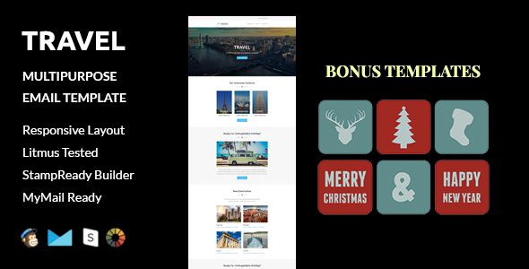 New Year Templates From Themeforest