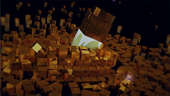 VideoHive Cubes Fallen 19209179