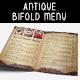 Restaurant Bifold Menu