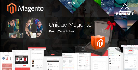 Download Magento Custom Email Templates PRO