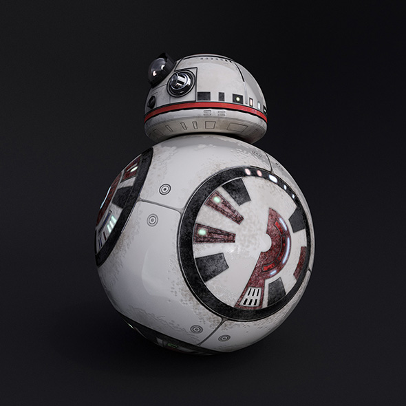 Star Wars Droid - 3DOcean Item for Sale