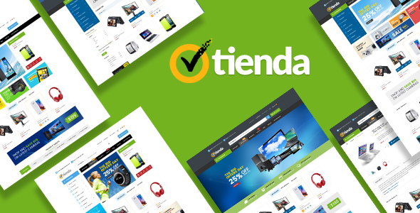 Download Tienda - Responsive Technology Magento Theme nulled download