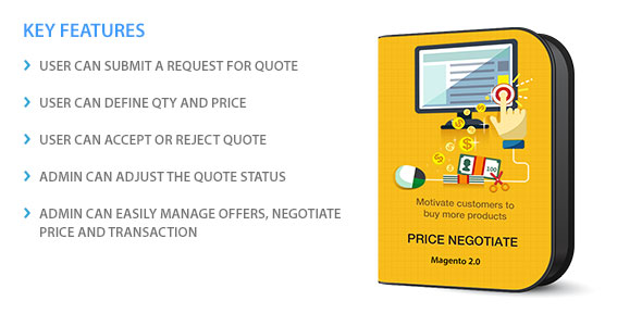 Magento two Price tag Negotiation (Magento Extensions)