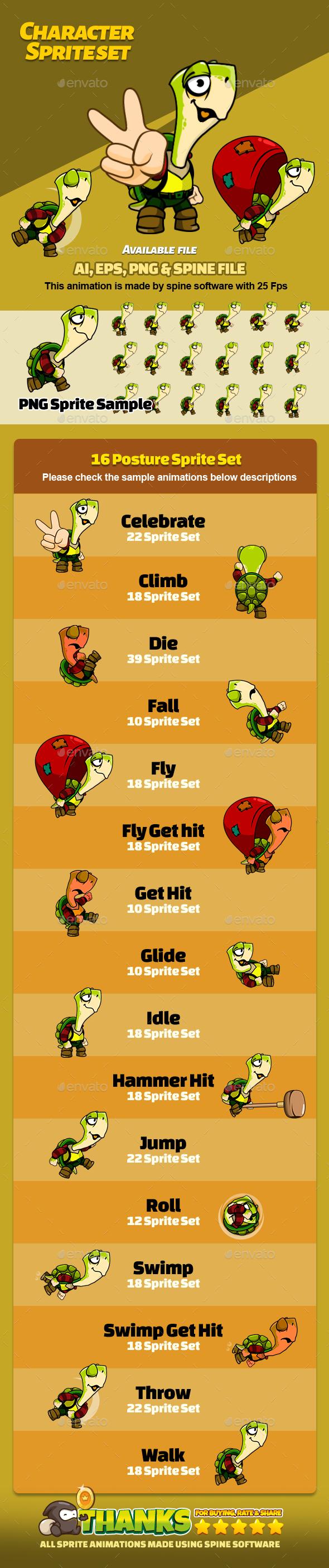 Character Set V11 (Sprites)