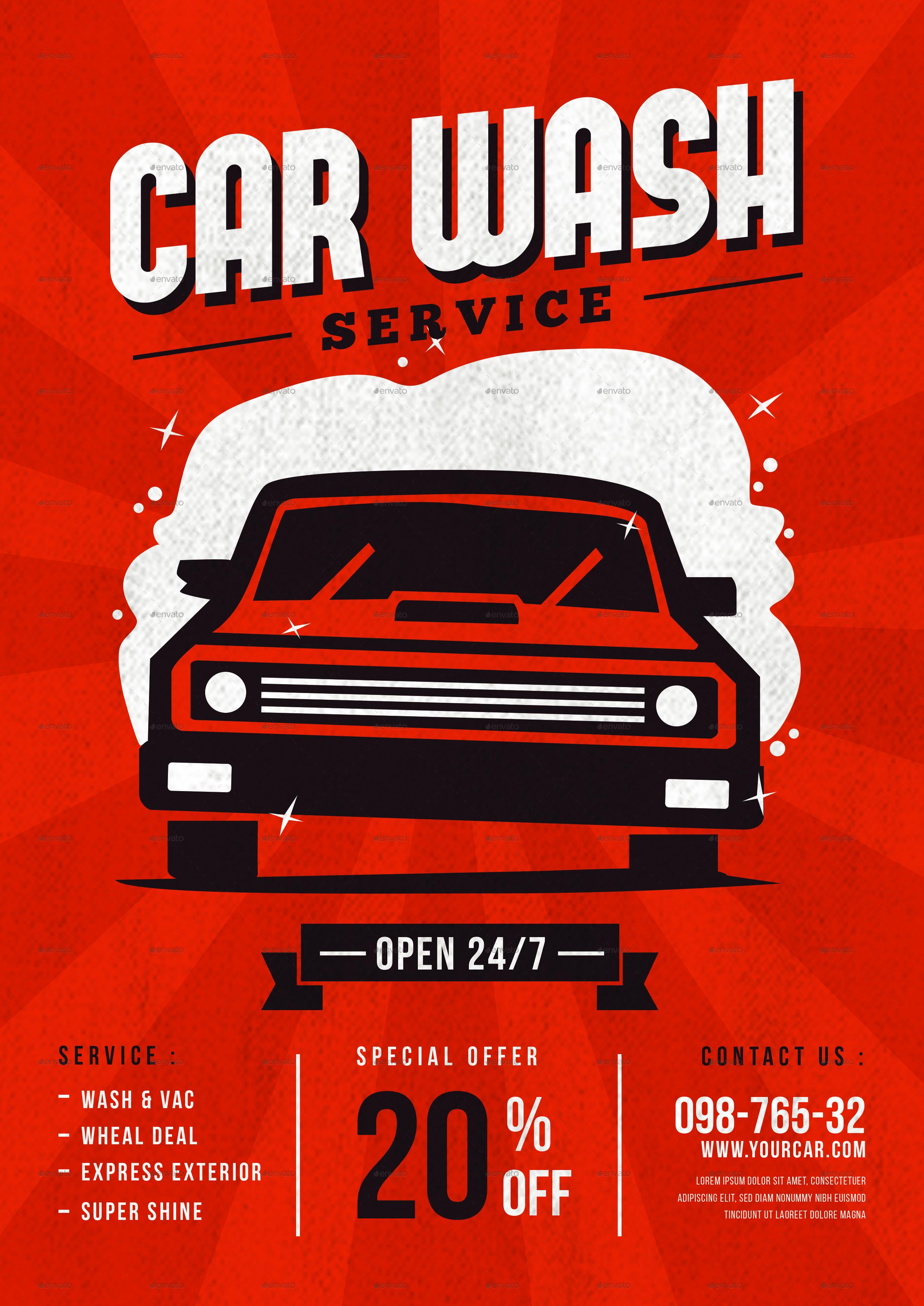 car wash service flyer by tokosatsu graphicriver preview image set car wash flyer 1 jpg