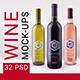 Wine mockup pack
