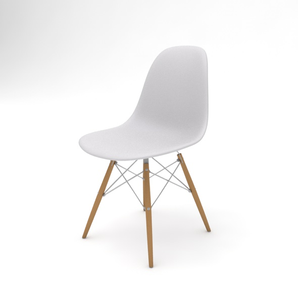 Chair Vitra DSW - 3DOcean Item for Sale