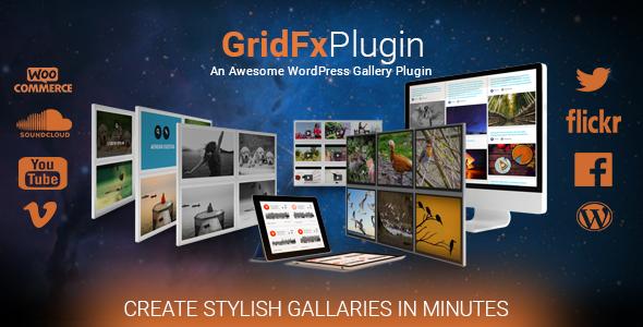 Grid FX - Ultimate Grid Plugin for WordPress