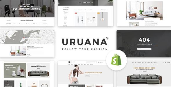 Uruana – Multi Store Responsive Shopify Theme (Shopify)