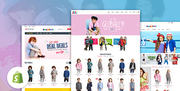 Download HappyChild - Multi Store Responsive Shopify Theme nulled download