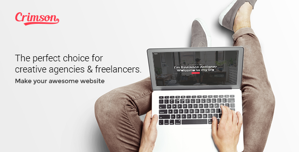 Download Crimson - A Polished Theme for Creative Agencies & Freelancers nulled download