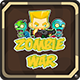 Zombie War Complete game + Buildbox 2 file