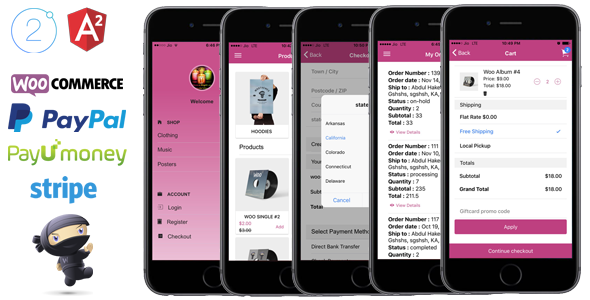 Nulled [ionic 2 App for WooCommerce item nulled - 19128672