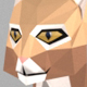 Low poly bobcat
