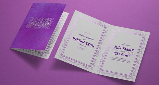 Invitation & Greeting Card Mock-Ups