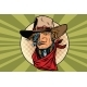 Wild West Bandit Robot Steampunk