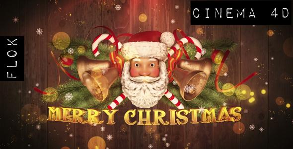 VideoHive Santa Claus Greetings Cinema4D 19224015