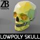 Lowpoly Skull