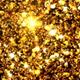 Christmas Gold Glitter