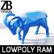 Lowpoly Ram Sheep