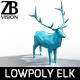 Lowpoly Elk