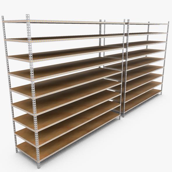 Industrial Rack - 3DOcean Item for Sale