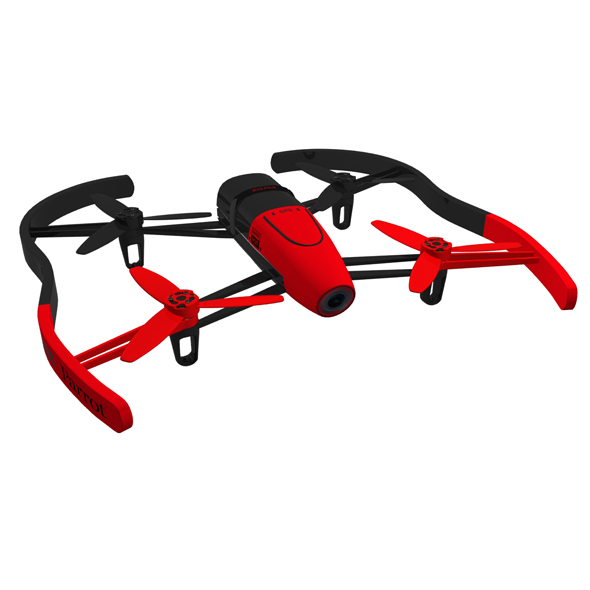 Parrot Bebop Drone Red - 3DOcean Item for Sale