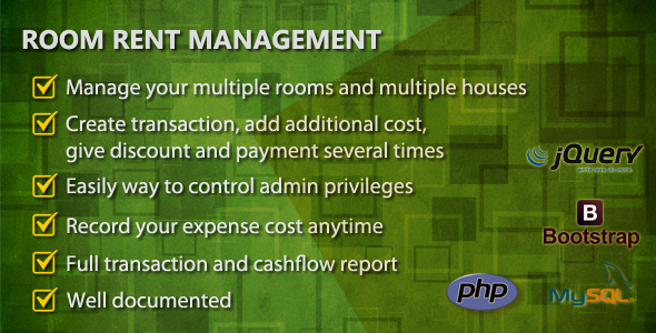 Download Room Rent Management nulled download