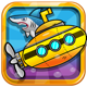 Submarine Adventures (Buildbox 2.2.8, Google games, Admob)