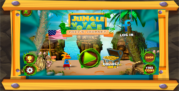 Jungle Voyage Final - Unity3d + Admob - CodeCanyon Item for Sale