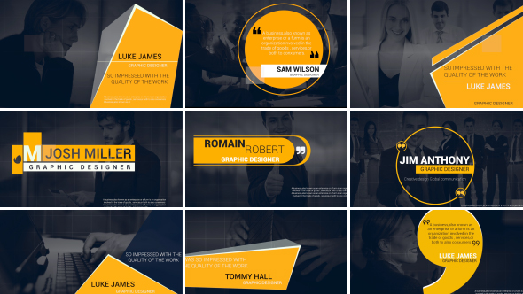 VideoHive Corporate Titles 19226608
