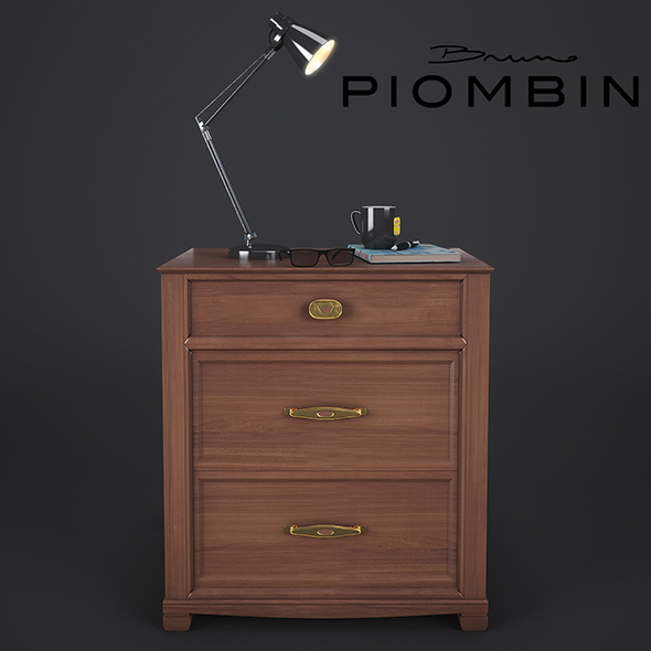 NightStand Bruno Piombini - 3DOcean Item for Sale