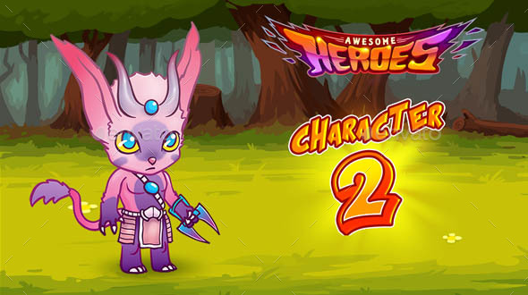 Heroes Character 2 (Sprites)