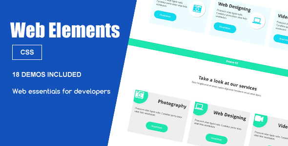 Download Web Elements – Services Snippets