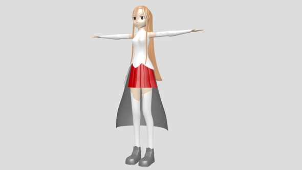 Asuna - 3DOcean Item for Sale