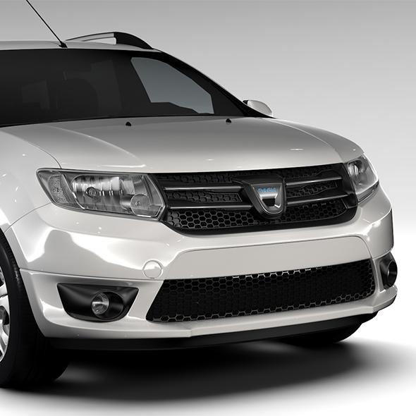 Dacia Logan MCV Fiskal 2016 - 3DOcean Item for Sale