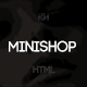Minishop - Multipurpose, Minimal, e-Commerce, Marketplace Template