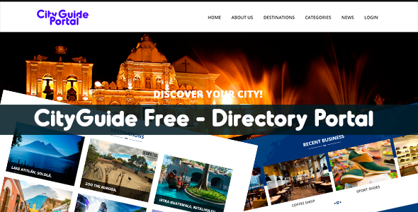 Download City Guide Portal - Free Directory Listing nulled download