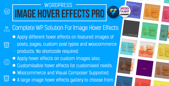 Advanced Image Hover Effects for WordPress