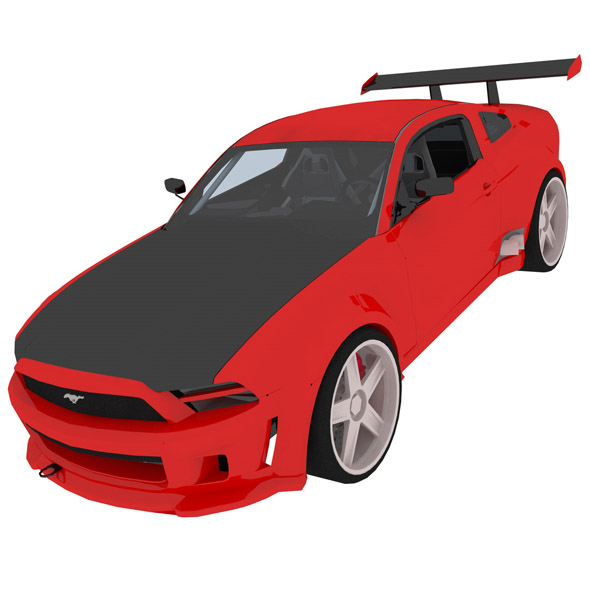 Ford Mustang GT-R - 3DOcean Item for Sale