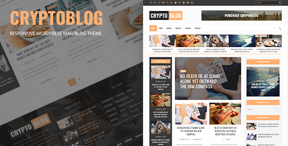 Download Cryptoblog - Responsive Mag/Blog WordPress Theme nulled download