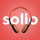 SOLIO - Music Brand Headset HTML5 Template