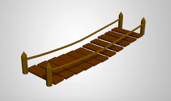Low Poly Bridges - 3DOcean Item for Sale