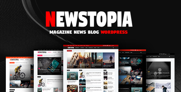Newstopia -  WordPress Blog Magazine Theme