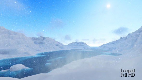 VideoHive Snow Mountain 19233354