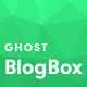 BlogBox - Minimal and Bold Ghost Theme