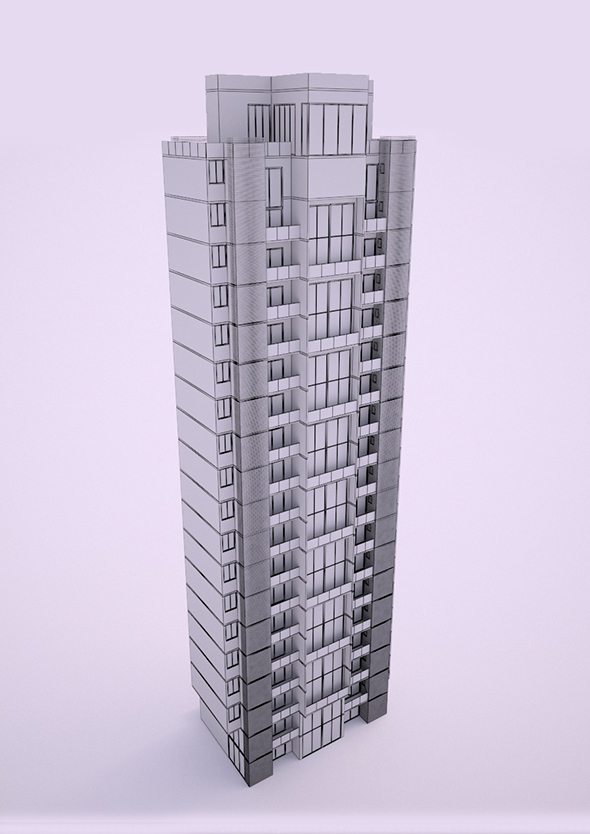 Tower No I 02 - 3DOcean Item for Sale